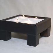 20cm square candlebox